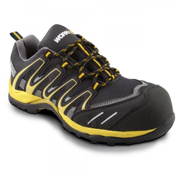 Zapato seg. workfit trail amarillo n.41