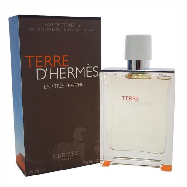 Hermes paris terre d'hermes eau tres fraiche eau de toilette 75ml vaporizador