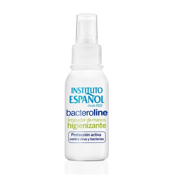 Instituto español bacteroline higienizante limpiador de manos 80ml spray