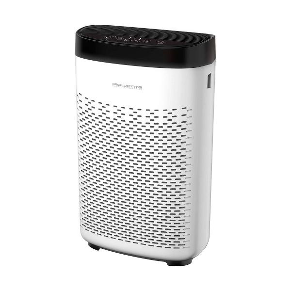 Rowenta pure air essential purificador de aire 90m2 50w con 3 velocidades y niveles de filtración
