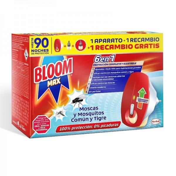 BLOOM MAX 6 EN 1 APARATO + 2 RECAMBIOS