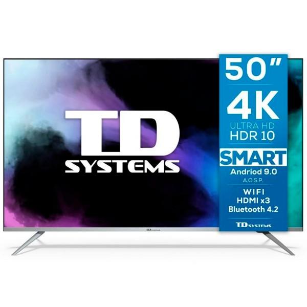 Td systems k50dlj12us televisor smarttv 50'' uhd 4k wifi bluetooth
