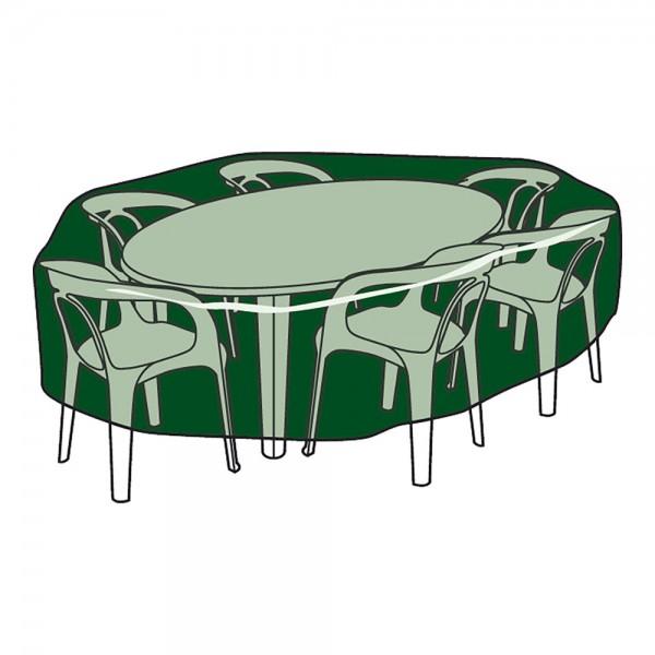 Funda protección cubre mesa y sillas ø325x90cm