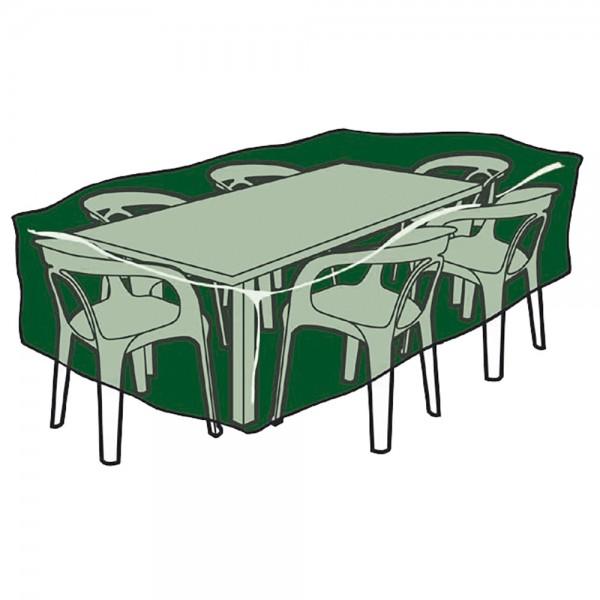Funda protección cubre mesa y sillas 325x205x90cm