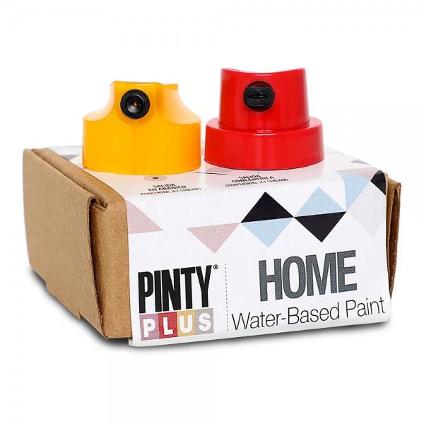 Pintyplus home caja 2 pulsadores - rojo y amarillo
